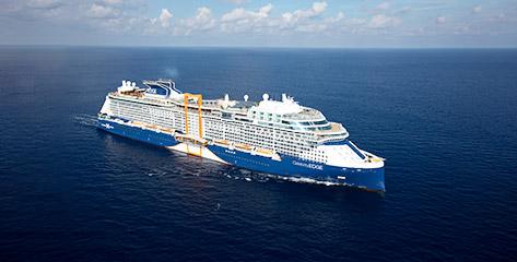 Jetzt mit Celebrity Cruises auf Kreuzfahrt gehen!