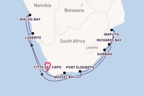 15 giorni da Città del Capo