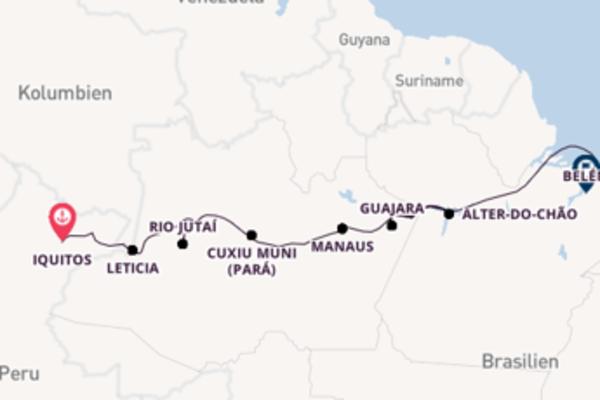 Entdecken Sie Pevas, Peru auf der HANSEATIC spirit