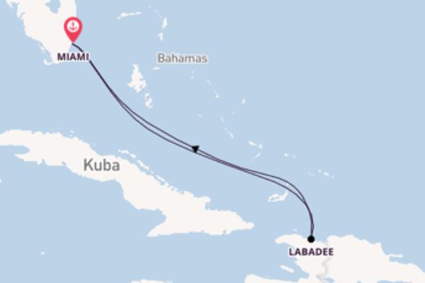 In 5 Tagen nach Miami über Labadee