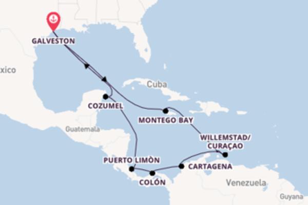 Inebriante viaggio di 15 giorni verso Colón a bordo di Carnival Dream