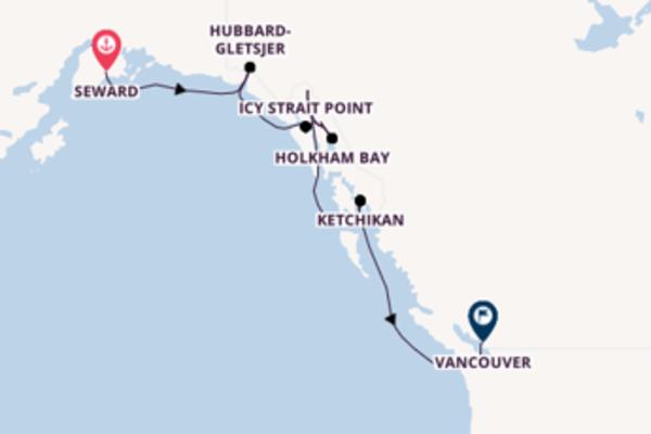 Cruise met Norwegian Cruise Line naar het adembenemende Vancouver