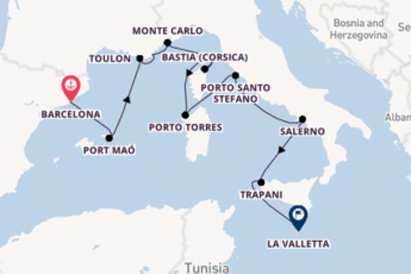 Geniet van het mooie Toulon met Oceania Cruises