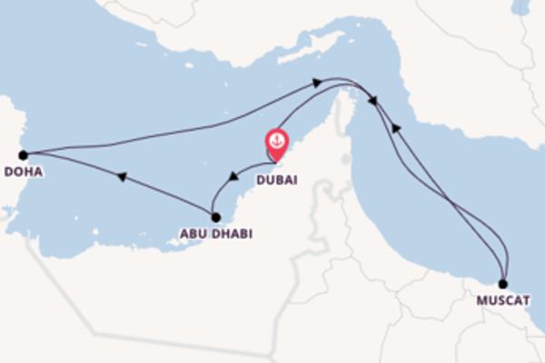 8 Tage Emirate und Orient Reise