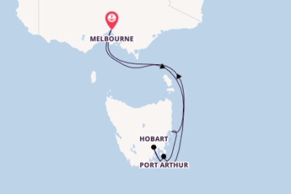 Wunderbare Reise ab Melbourne