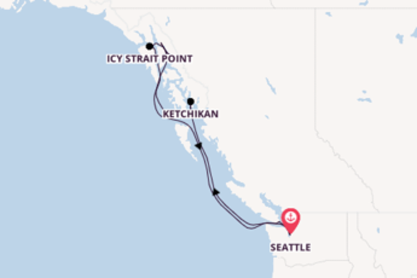Cruise from Seattle with the Quantum of the Seas