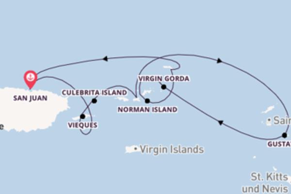 San Juan und St. John entdecken