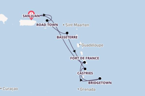 Glorious sail from San Juan with Royal Caribbean
