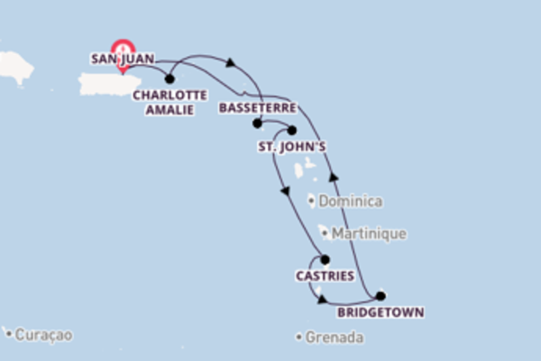 Delightful journey from San Juan with Royal Caribbean