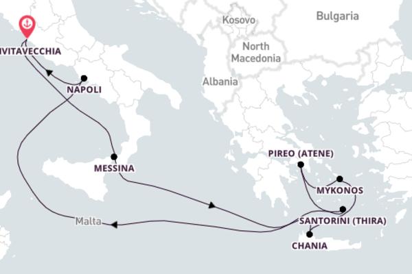 A bordo di Explorer of the Seas da Civitavecchia