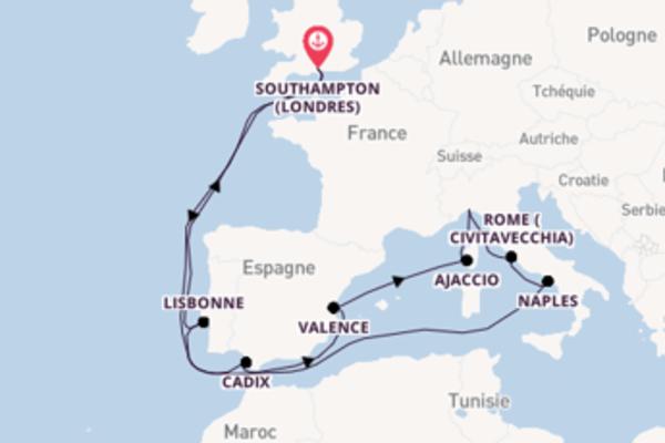 Idyllique croisière de 18 jours avec P&O Cruises