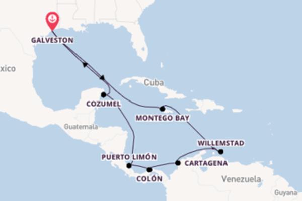 Geniet van het indrukwekkende Cartagena met Carnival Cruise Line