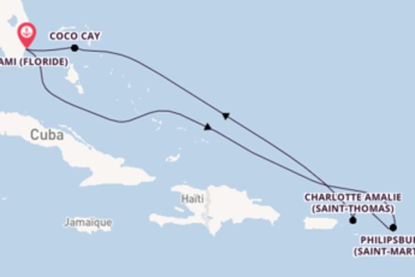 Magnifique balade pour découvrir Charlotte Amalie