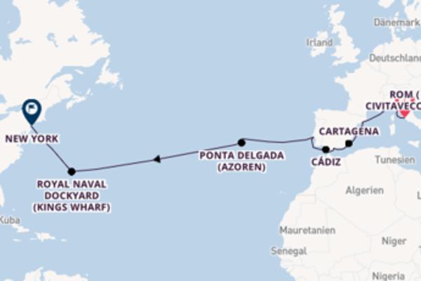 17 Tage unterwegs mit der Norwegian Getaway