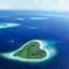 Divine atmosphère irisée de l'Océan Indien