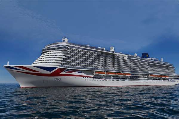 8 day cruise with the Iona to Southampton (London)