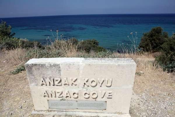 Anzac Cove (Gallipoli), Turkey