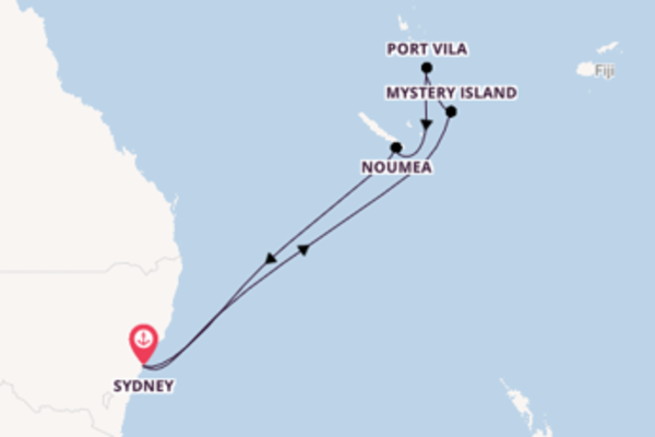 Ga mee op de Ovation of the Seas® naar Sydney