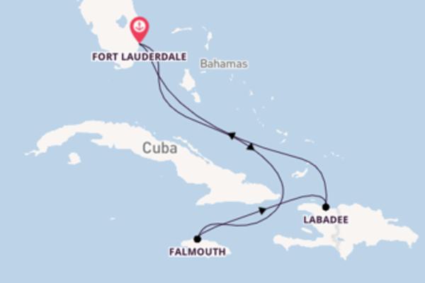 Cruise naar Fort Lauderdale via Labadee