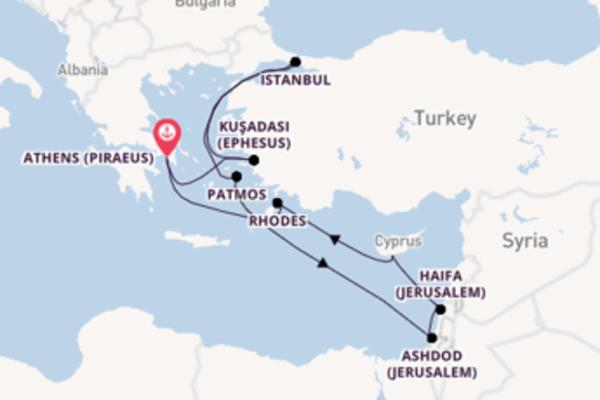 Greece, Turkey & Israel