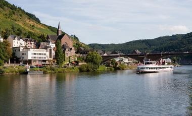 Moselle, Rhin