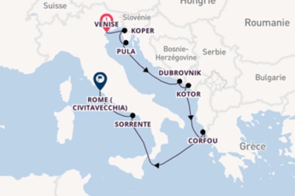 Inoubliable croisière avec Azamara Club Cruises pendant 9 jours