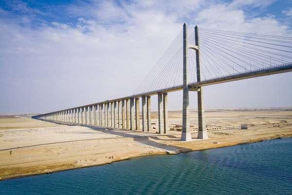 Suezkanal Passage, Ägypten