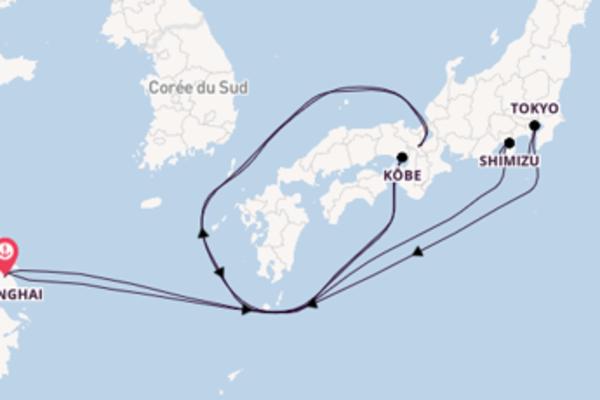 Croisière de 9 jours depuis Shanghai avec Royal Caribbean