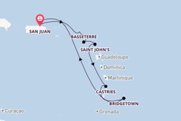 Salpando i mari da San Juan