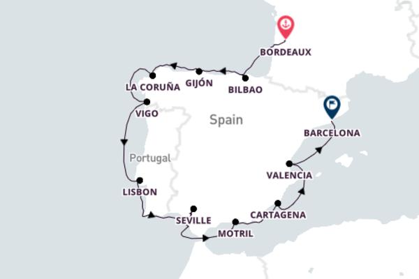 14-Day Excursion to Historic Gijón