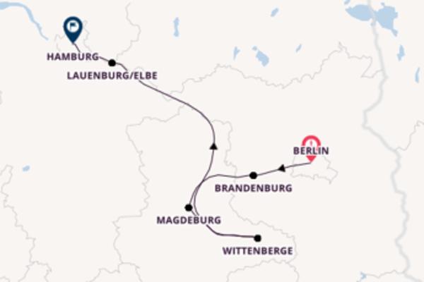 Berlin, Deutschland und Wittenberge, Deutschland erleben