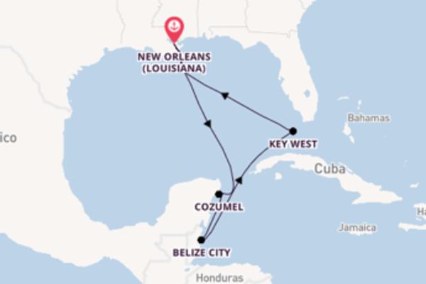 A bordo di Majesty of the Seas da New Orleans (Louisiana)
