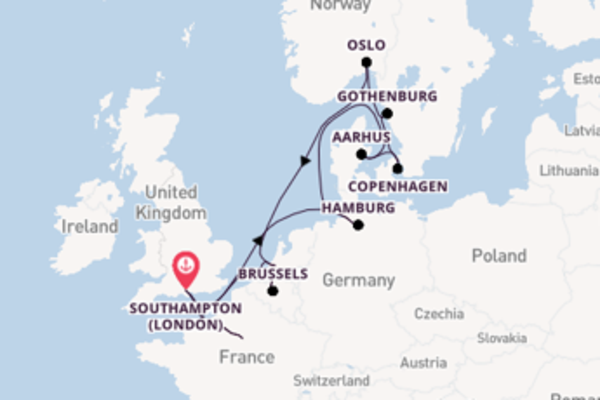 Expedition with Princess Cruises from Southampton