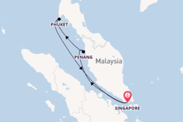 5 day voyage from Singapore
