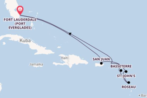 12 Tage Karibik Reise