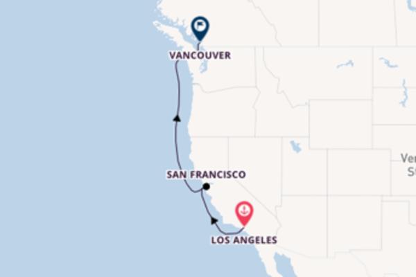 Beeindruckende Kreuzfahrt über San Francisco ab Los Angeles