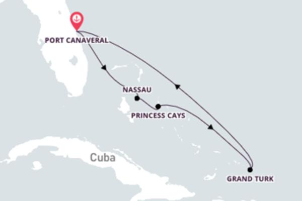 6 dias nas Bahamas com o Carnival Elation