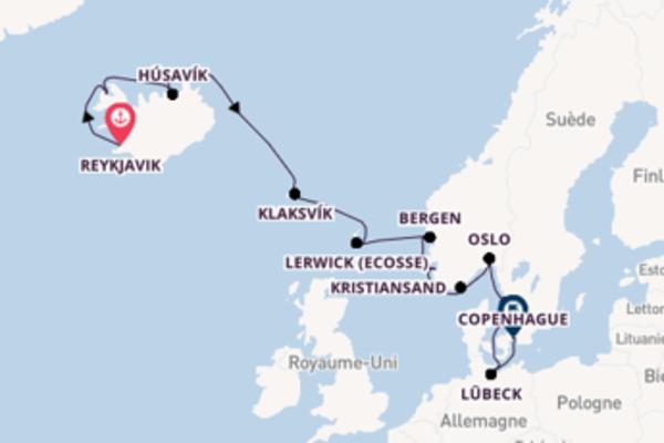 Douce croisière avec Oceania Cruises pendant 13 jours