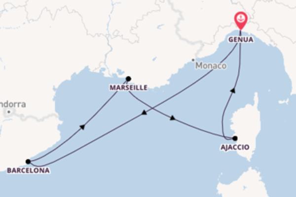 5 Tage unterwegs mit der MSC Preziosa