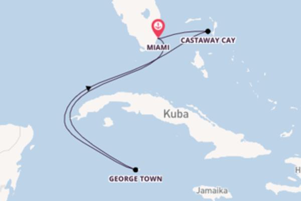 6 Tage westliche Karibik mit Disney