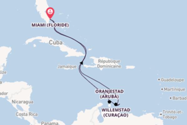 Somptueuse balade de 9 jours avec Carnival Cruise Lines