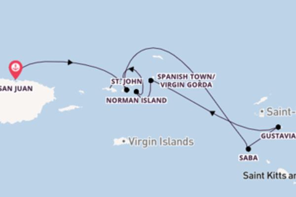 San Juan und Norman Island erleben