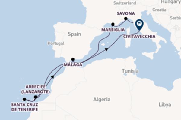 Inebriante viaggio di 12 giorni passando per Santa Cruz de Tenerife