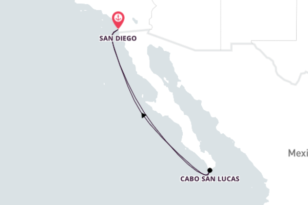 Historic Cabo San Lucas from San Diego 6-Day Escape