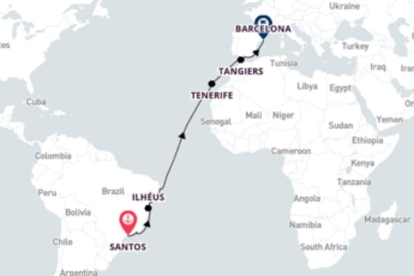 Magnificent Ilhéus Journey with Costa Cruises