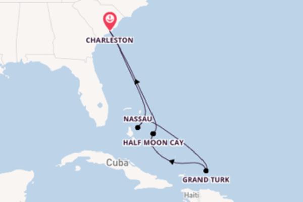 8 giorni di crociera da Charleston