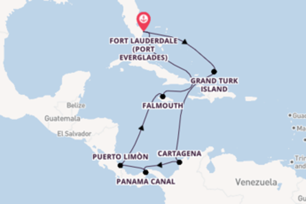 Expedition with Princess Cruises from Fort Lauderdale (Port Everglades)