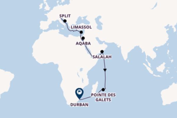27 Tage unterwegs mit der MSC Lirica