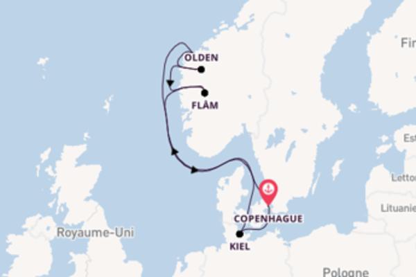 Découvrez à bord du bateau MSC Virtuosa, la destination: Olden