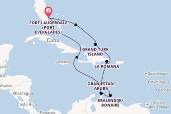 Journey with Carnival Cruise Lines from Fort Lauderdale